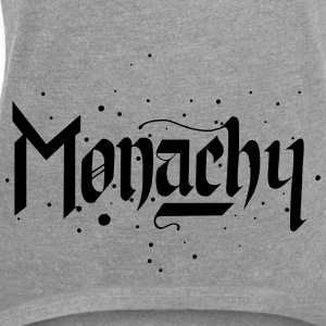 Monachy - Women's T-shirt with rolled up sleeves