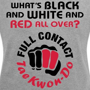 Full Contact Taekwondo - Women's T-shirt with rolled up sleeves