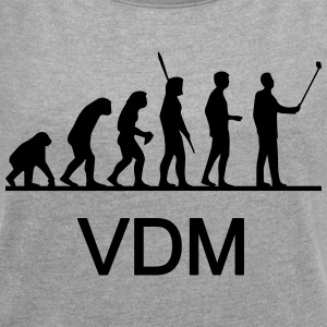 VDM Evolution Stick - Women's T-shirt with rolled up sleeves