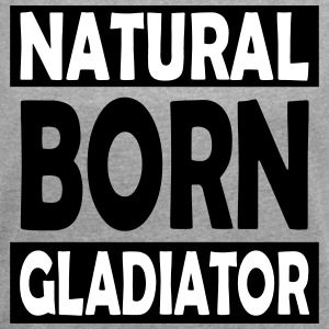 Natural_Born_Gladiator - T-skjorte med rulleermer for kvinner