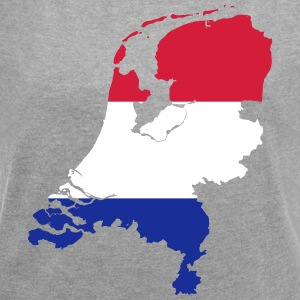 Netherlands - Women's T-shirt with rolled up sleeves