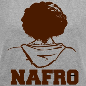Nafro - Women's T-shirt with rolled up sleeves