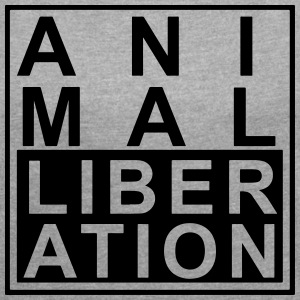 Animal liberation - Women's T-shirt with rolled up sleeves