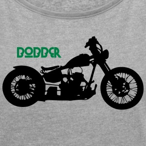 Bobber - Women's T-shirt with rolled up sleeves