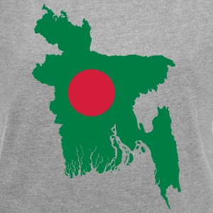 Bangladesh - Women's T-shirt with rolled up sleeves