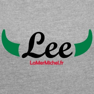 "Lee ""HORNS"" - Women's T-shirt with rolled up sleeves"