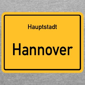 City of Hannover - Women's T-shirt with rolled up sleeves