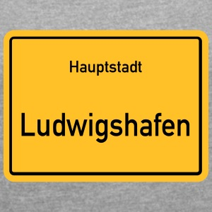 Capital Ludwigshafen - Women's T-shirt with rolled up sleeves