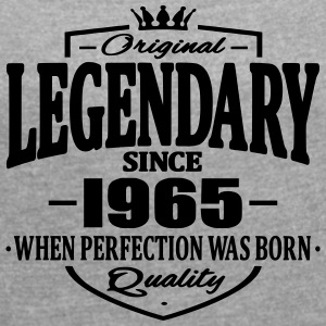 Legendary since 1965 - Women's T-shirt with rolled up sleeves
