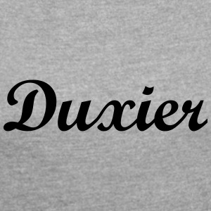Duxier - Women's T-shirt with rolled up sleeves