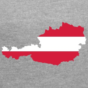 Austria - Women's T-shirt with rolled up sleeves