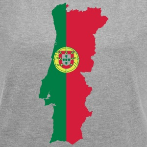 Portugal - Women's T-shirt with rolled up sleeves
