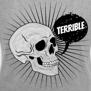 The terrible friends - Women's T-shirt with rolled up sleeves