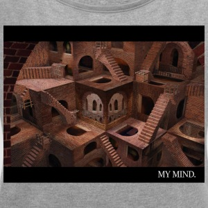 Infinite Mind - Women's T-shirt with rolled up sleeves