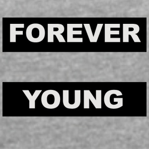 For ever young - Camiseta con manga enrollada mujer