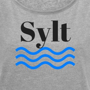 Sylt - Women's T-shirt with rolled up sleeves