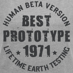 1971 - The year of birth of legendary prototypes - Women's T-shirt with rolled up sleeves