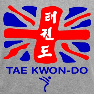 British Taekwondo - Women's T-shirt with rolled up sleeves