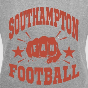 Southampton Football Fan - Women's T-shirt with rolled up sleeves