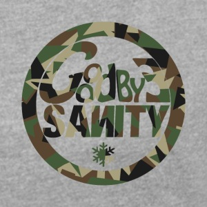 Goodbye Casual Camo - Women's T-shirt with rolled up sleeves
