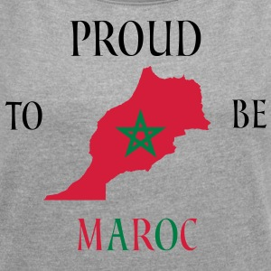 MOROCCO COLLECTION - Women's T-shirt with rolled up sleeves