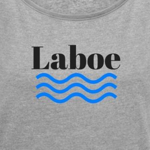 Laboe - Women's T-shirt with rolled up sleeves