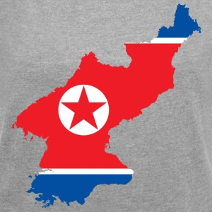 NORDKOREA T-SHIRT - Women's T-shirt with rolled up sleeves