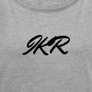 IKR - Women's T-shirt with rolled up sleeves