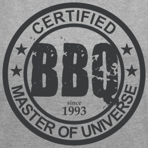 Certified BBQ Master 1993 Grillmeister - Women's T-shirt with rolled up sleeves