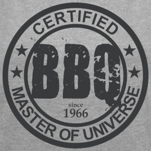 Certified BBQ Master 1966 Grillmeister - Women's T-shirt with rolled up sleeves
