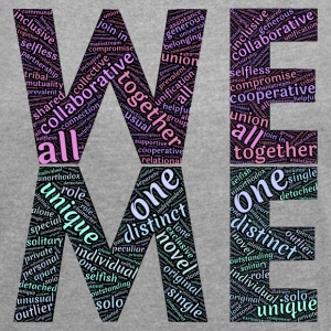 we & me - Women's T-shirt with rolled up sleeves