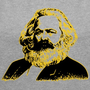 Karl Marx - Women's T-shirt with rolled up sleeves
