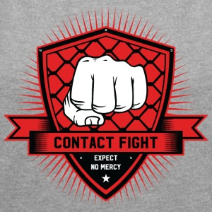 Contact Fight Classic - Women's T-shirt with rolled up sleeves