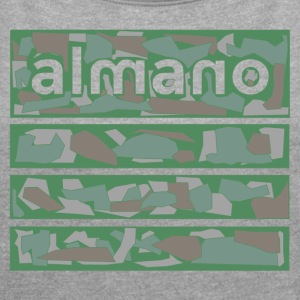 alcamo - Women's T-shirt with rolled up sleeves
