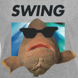 SWING fish - Women's T-shirt with rolled up sleeves