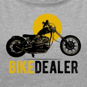 Bike Dealer · LogoArt - Women's T-shirt with rolled up sleeves