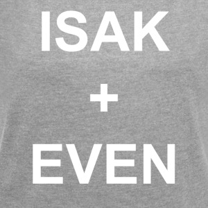 ISAK + EVEN - Women's T-shirt with rolled up sleeves