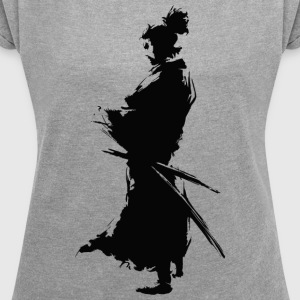 KING SAMURAI COLLECTION - Maglietta da donna con risvolti