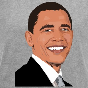 Obama USA - Women's T-shirt with rolled up sleeves