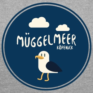 MÜGGELMEER | Müggelsee | Koepenick - Women's T-shirt with rolled up sleeves