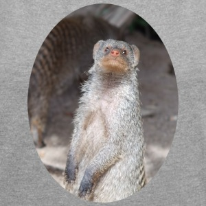 possum - Women's T-shirt with rolled up sleeves