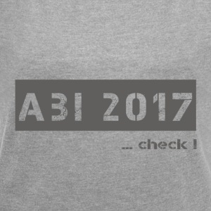 abi 2017 - Women's T-shirt with rolled up sleeves