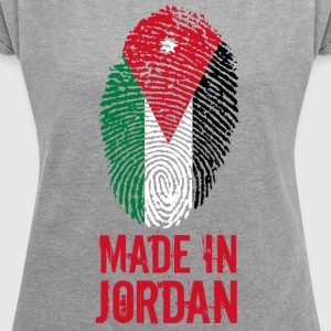 Made in Jordan / Made in Jordan الأردن - Women's T-shirt with rolled up sleeves