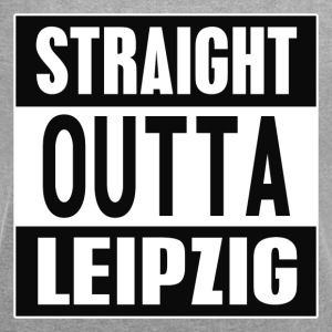 Straight outta Leipzig - Women's T-shirt with rolled up sleeves