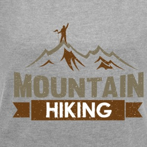 Mountain HIKING - Women's T-shirt with rolled up sleeves
