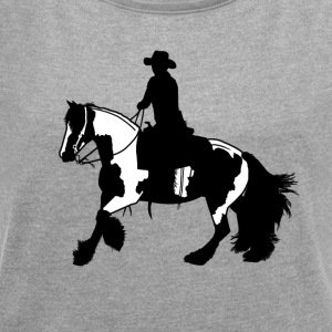 Tinker gallop - Women's T-shirt with rolled up sleeves