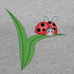 Bugslife - freebug - Women's T-shirt with rolled up sleeves