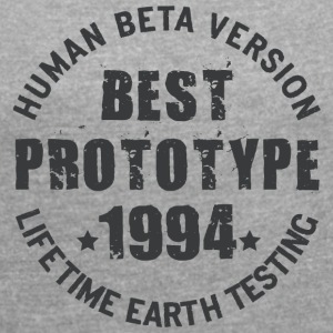 1994 - The birth year of legendary prototypes - Women's T-shirt with rolled up sleeves