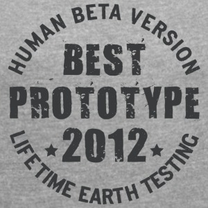 2012 - The birth year of legendary prototypes - Women's T-shirt with rolled up sleeves