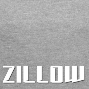 Zillow - Women's T-shirt with rolled up sleeves